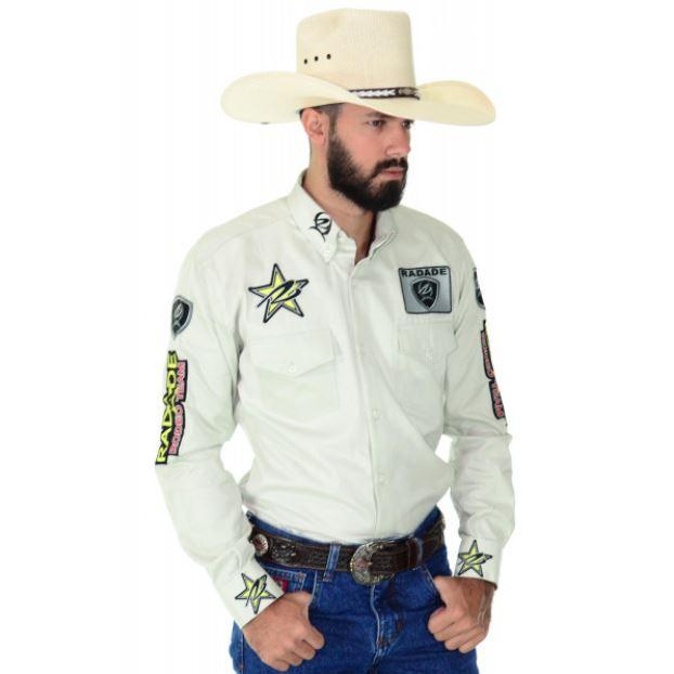 Camisa Masculina Radade Rodeo Team Bege