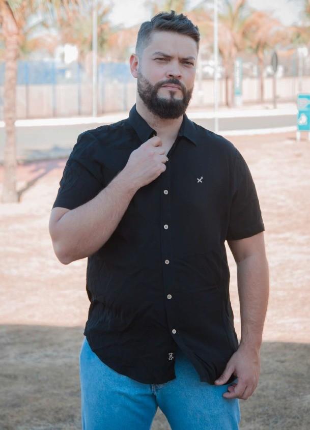 Camisa Masculina TXC Brand Viscose 2532C