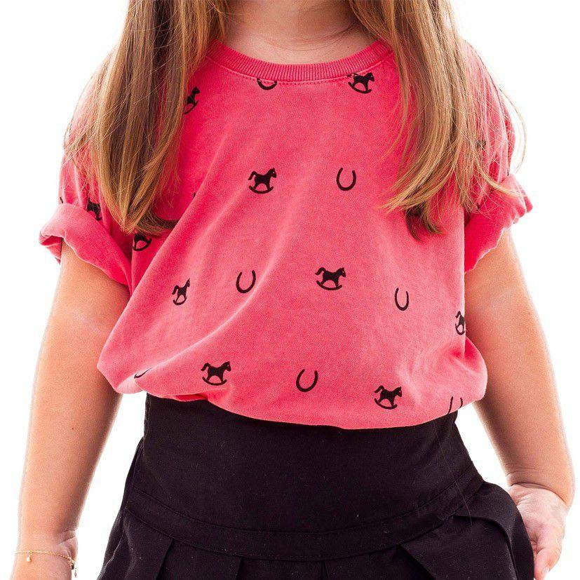 Camiseta Infantil Escaramuça Mini Rapport