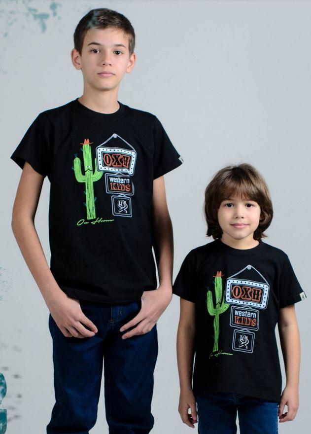 Camiseta Infantil OX Horns 5053