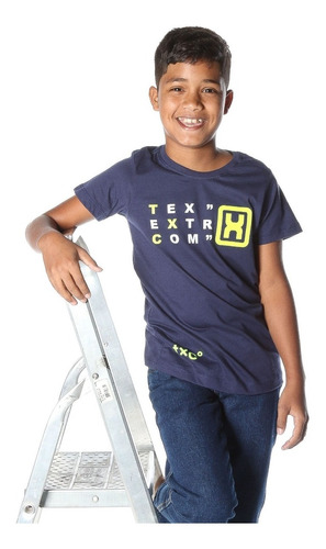 Camiseta Infantil TXC Marinho 11555