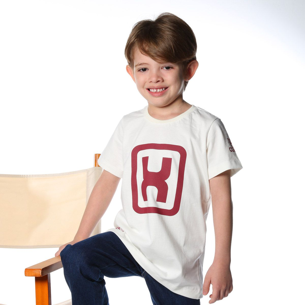 Camiseta Infantil TXC Off White 11404