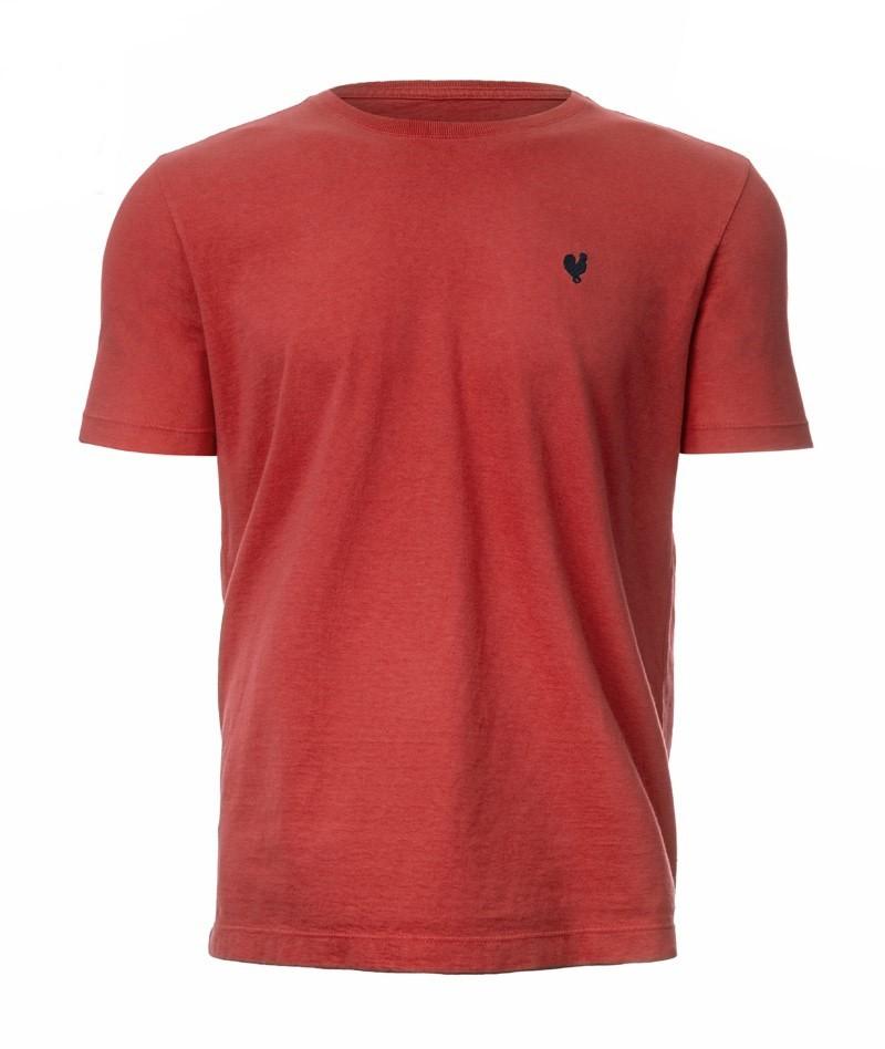 Camiseta Masculina Made In Mato Basica Goiaba C19001