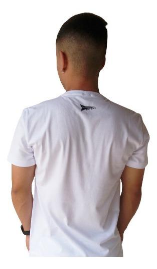 Camiseta Masculina Fast Back 1012 Branco