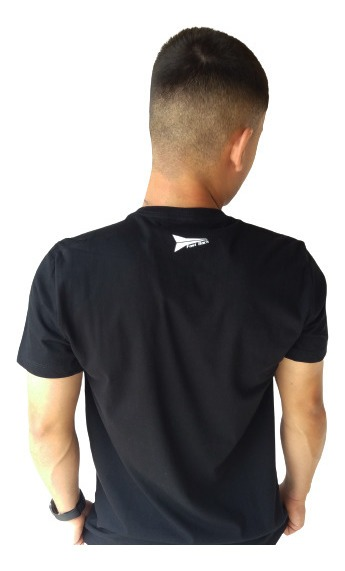 Camiseta Masculina Fast Back 1016 Preto