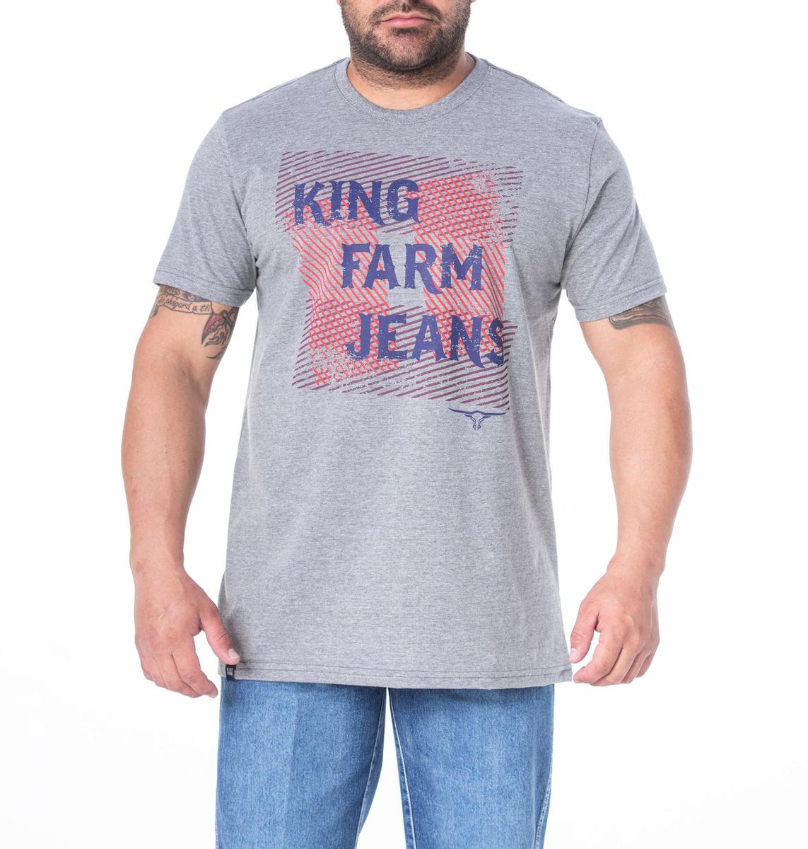 Camiseta Masculina King Farm GCM178