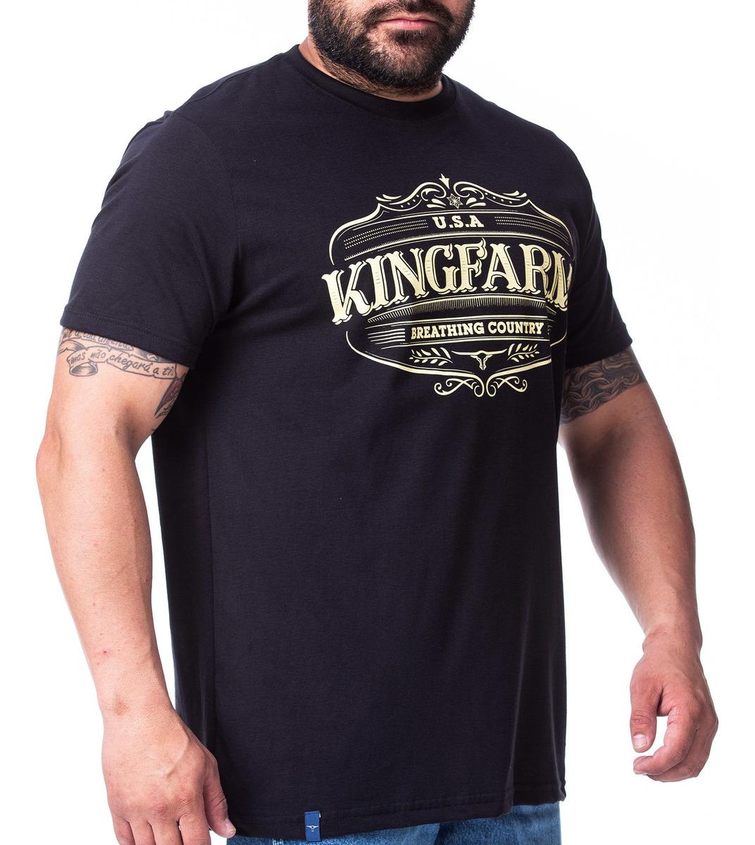Camiseta Masculina King Farm GCM180