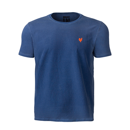 Camiseta Masculina Made In Mato Azul 8283