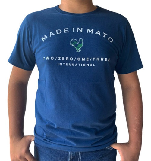 Camiseta Masculina Made In Mato CE1006