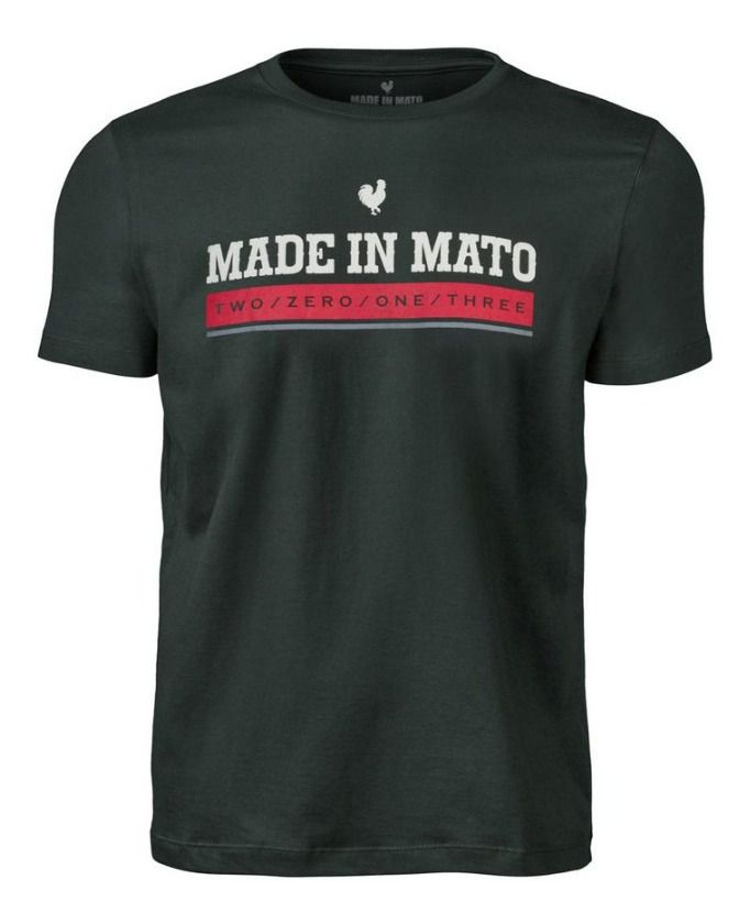 Camiseta Masculina Made In Mato Verde C8407
