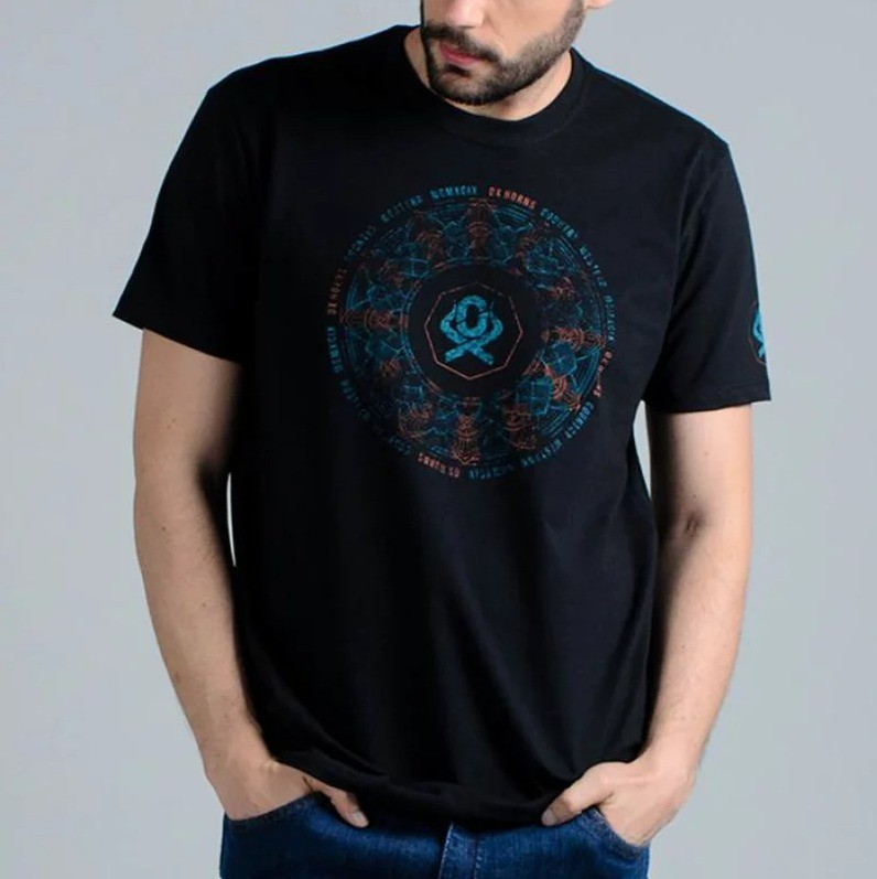 Camiseta Masculina Ox Horns 1354