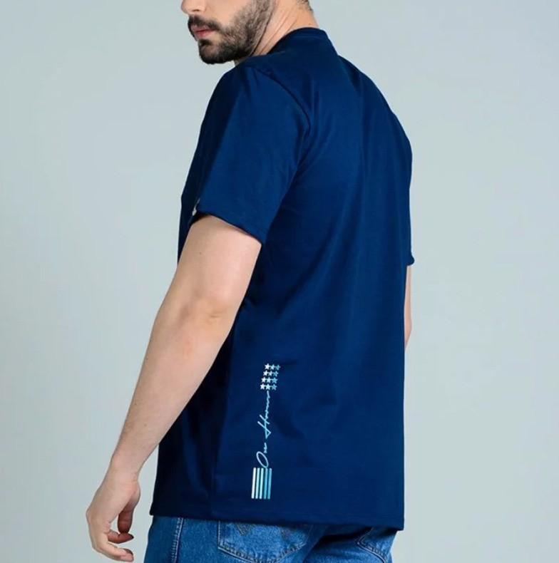 Camiseta Masculina Ox Horns 1370