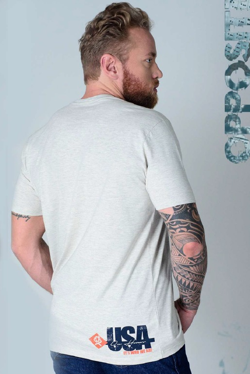 Camiseta Masculina Ox Horns 1411