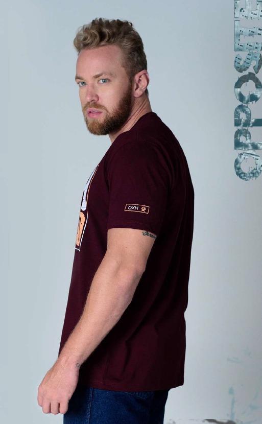 Camiseta Masculina Ox Horns 1418