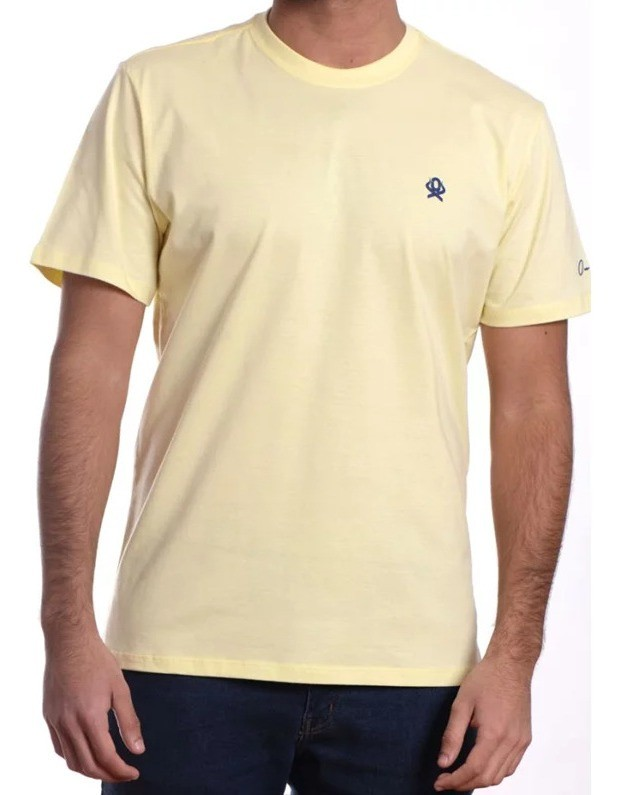 Camiseta Masculina Ox Horns Amarela 8003