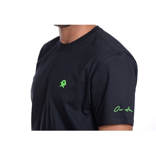 Camiseta Masculina Ox Horns Preta 8001