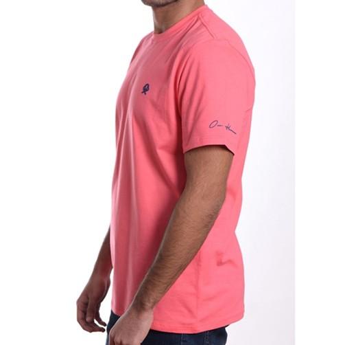 Camiseta Masculina Ox Horns Rosa 8005