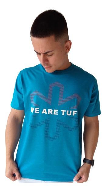Camiseta Masculina Tuff  TS2109 Turquesa