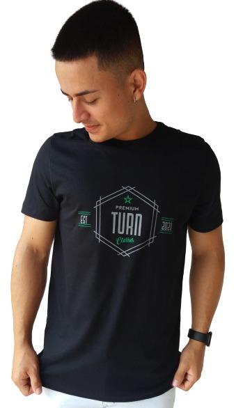 Camiseta Masculina Turn 1008