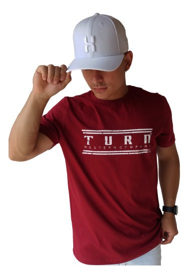 Camiseta Masculina Turn 1013
