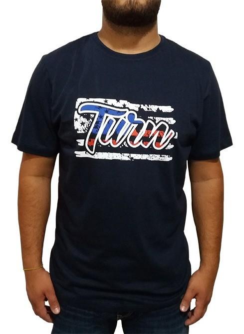 Camiseta Masculina Turn Marinho 1005