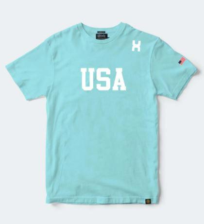 Camiseta Masculina TXC Brand Azul Claro 19314