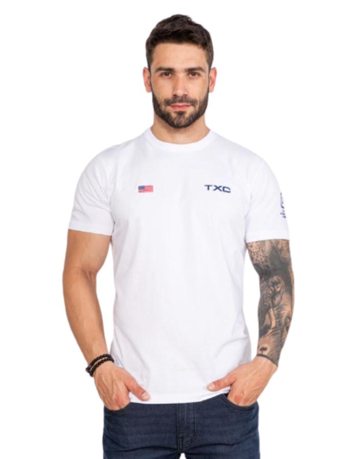 Camiseta Masculina TXC Brand Branca 19636