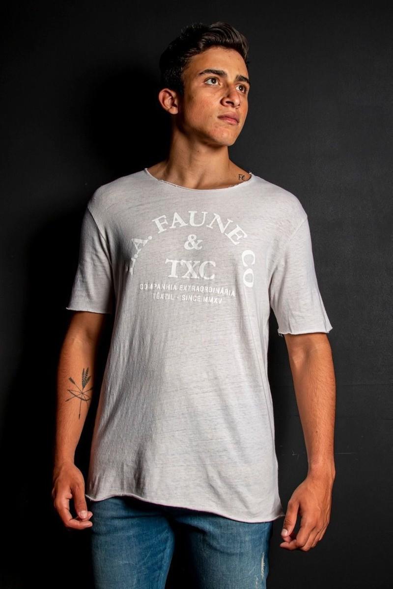 Camiseta Masculina TXC Brand La Faune Off White 1876
