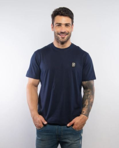 Camiseta Masculina TXC Brand Marinho 19447