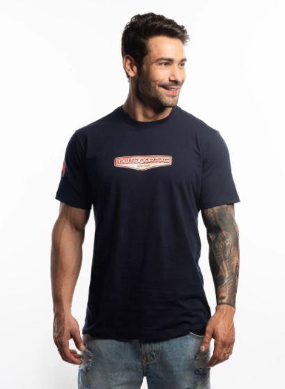 Camiseta MAsculina TXC Brand Marinho 19536
