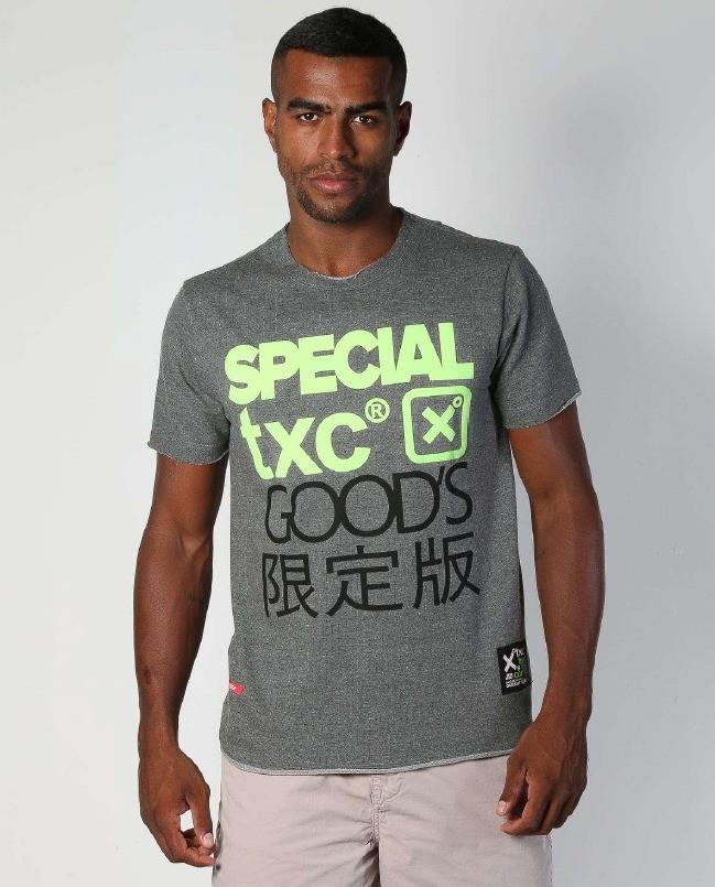Camiseta Masculina TXC Brand Mescla 1937