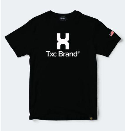 Camiseta Masculina TXC Brand Preta 1216