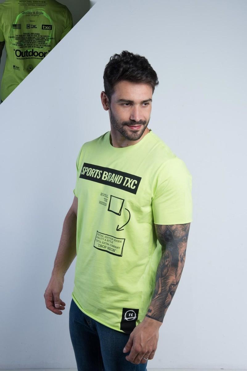 Camiseta Masculina TXC Brand Verde 1993