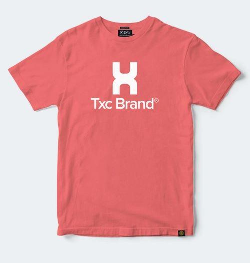 Camiseta Masculina TXC Brand Vermelha 1218