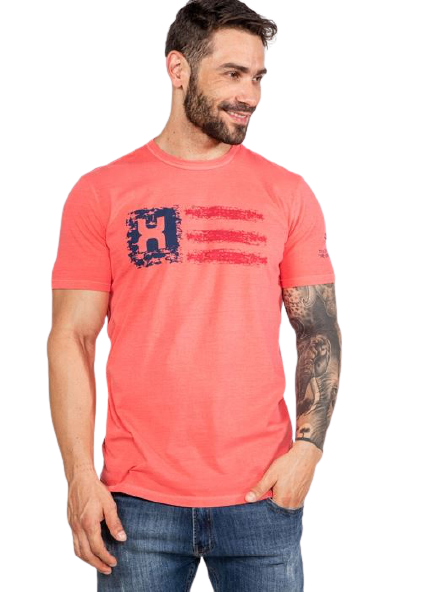 Camiseta Masculina TXC Brand Vermelho 19306
