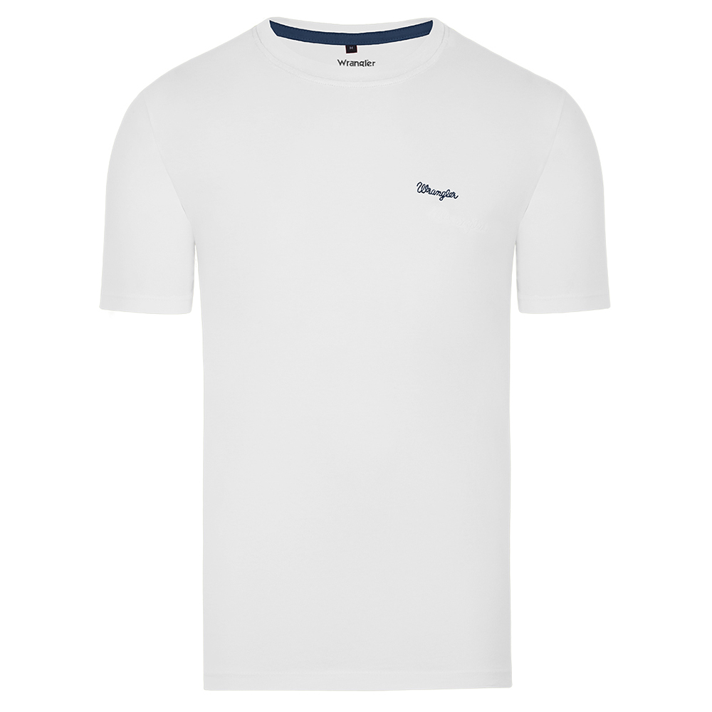 Camiseta Masculina Wrangler Branca WM8100