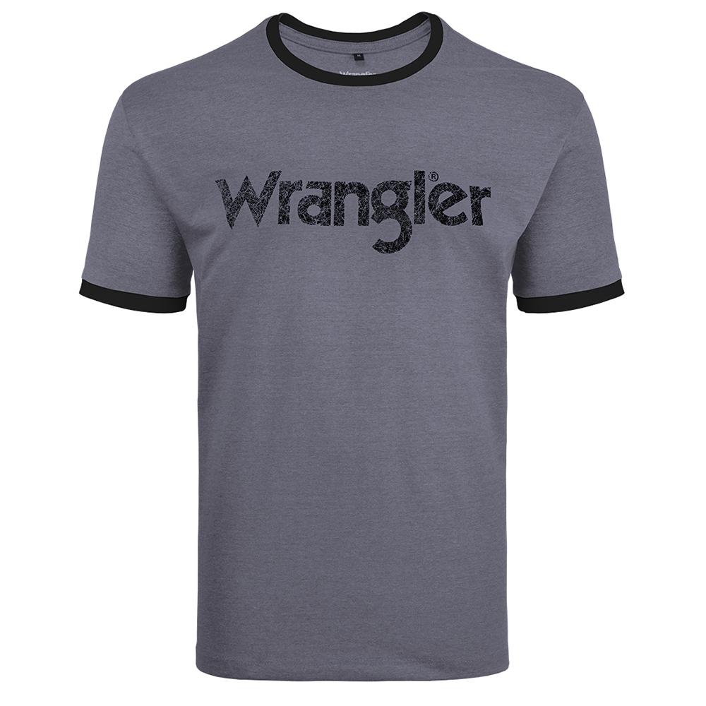 Camiseta Masculina Wrangler Chumbo WM8106
