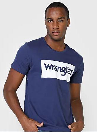 Camiseta Masculina Wrangler Marinho WM8102