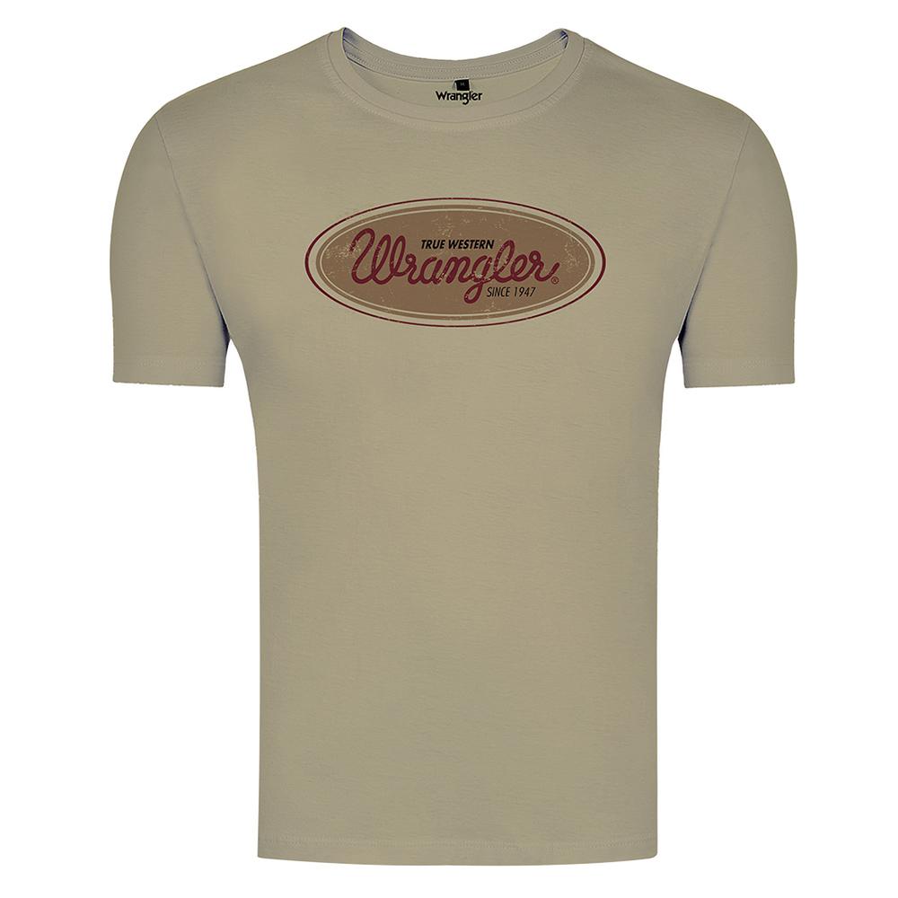 Camiseta Masculina Wrangler WF8054