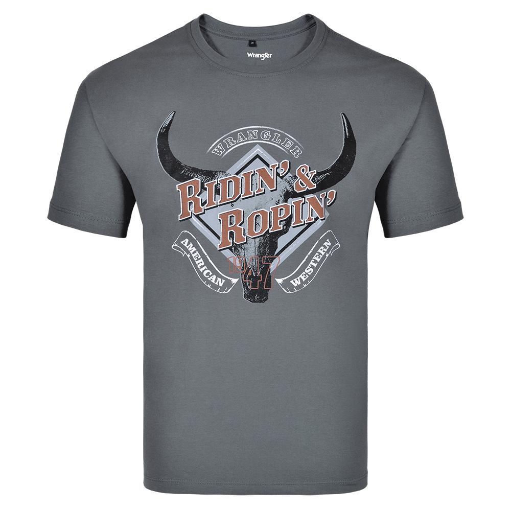Camiseta Masculina Wrangler WM8077