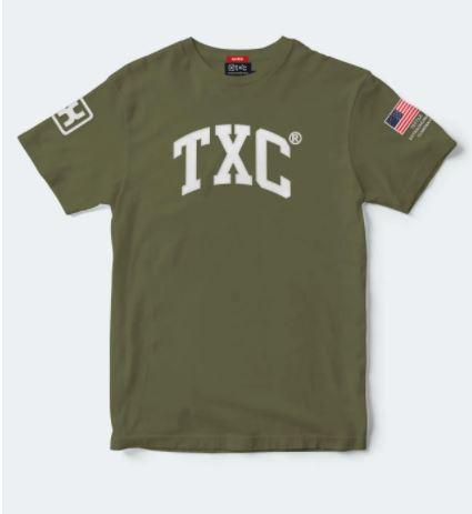 Camiseta Masculina X-Plus Verde 19210