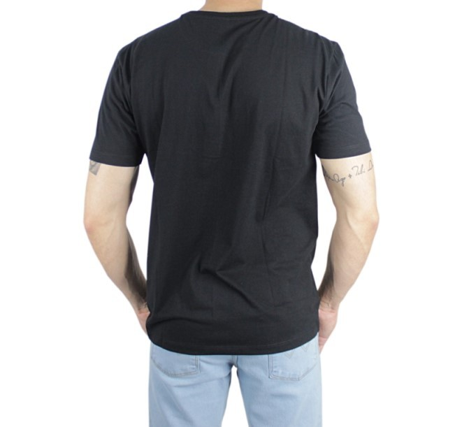 Camiseta Masculina Wrangler Basic Tee Preto