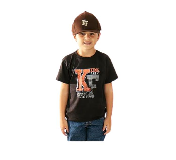 Camista Infantil King Farm Preta KF01