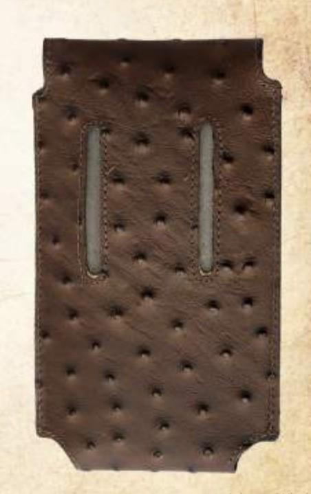 Capa para Celular Cincow Avestruz 005 Café
