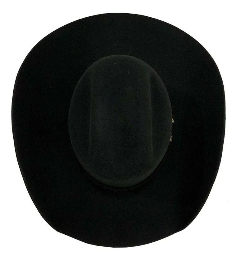 Chapéu Eldorado Lã Preto Cattleman EC960