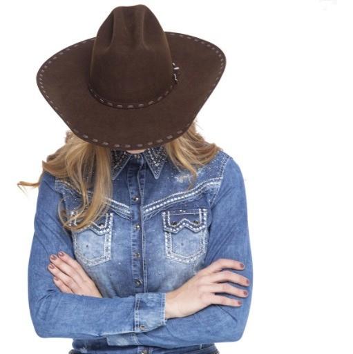 Chapéu Feminino Zenz Western Dixie