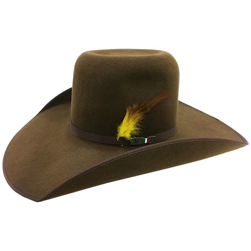 2fde2a87105 Chapéu Mexican Hats Monterrey Com Viés Café 412 - Celeiro Country.com ...