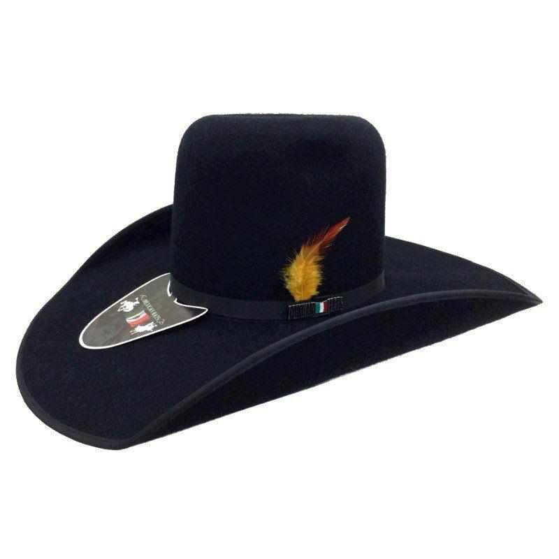 Chapéu Mexican Hats Monterrey com Viés Preto 412