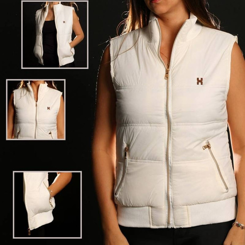 Colete Feminino TXC Brand Off White5037