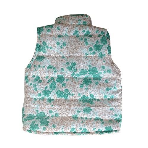 Colete Infantil Hard Roper Bege/Floral